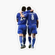 Terry And Lampard Artwork Sticker By Armaan Redbubble