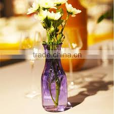 small clear glass vases for flower
