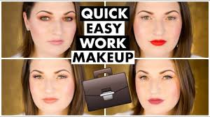 4 work office makeup tutorials for