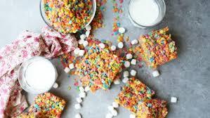 fruity pebbles treats recipe food