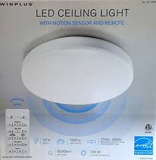 winplus led ceiling light with motion