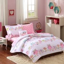 Mi Zone Kids Complete Bed And Sheet Set In Pink Finish Mzk10 123 Contemporary Kids Bedding Sets By Gwg Outlet