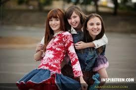 Ryan Newman, Adair Tishler & Bella Thorne - Inspire Magazine ...