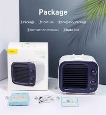 Quạt hơi nước giải nhiệt Mini để bàn Baseus Time Desktop Evaporative Cooler  Nam Phụ Kiện