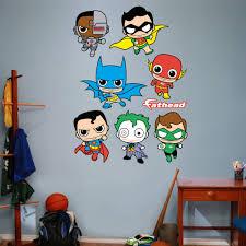 Fathead Dc Comics Justice League Kids Peel And Stick Wall Decal Wayfair
