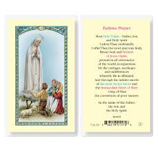 fatima prayer divine mercy gift