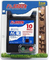 Amazon Com Fi Shock Eac25m Fs 25 Mile Ac Low Impedance Electric Fence Energizer Livestock Equipment Garden Outdoor