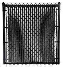 Black 6ft Ridged Slat For Chain Link Fence Walmart Com Walmart Com