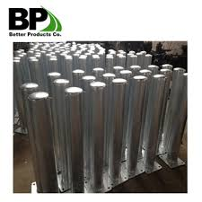 Galvanized Crash Barrier Post Round Post For Road Safety Buy Barrier Post Round Post Galvanized Fence Posts Round Wood Fence Posts For Sale Product On Alibaba Com