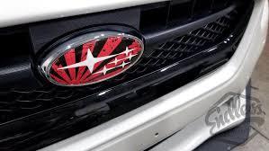 2015 2019 Subaru Wrx Sti Vinyl Gloss Badge Emblem Overlays Jdm Myfriendsdentist Com