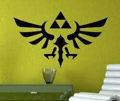 Legend Of Zelda Wall Decal Zelda Triforce Vinyl Sticker Home Wall Art Decor 9zda Ebay