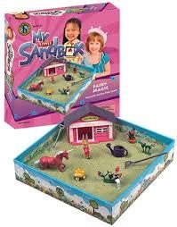 my little sandbox play tray fairy
