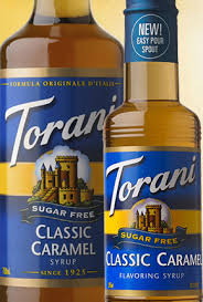 sugar free clic caramel syrup
