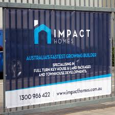 Vinyl Mesh Banners Printed Fence Mesh Mesh Signage Easy Signs