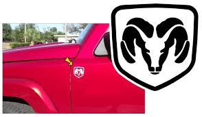 Graphic Express Dodge Ram Windshield Decal 5 X 36