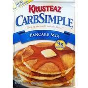 krusteaz pancake mix calories