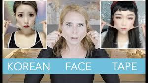 korean v shape face tape because