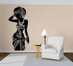Vinyl Sticker Afro Girl Beauty Woman Dress Big Mural Decal Wall Art Decor Hi312 17 99 Picclick
