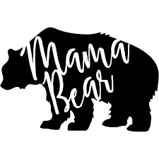 Mama Bear Vinyl Decal 904 Custom