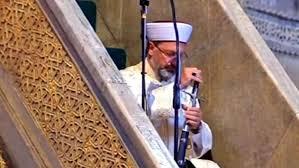 Haberler | Diyanet İşleri Başkanı Ali Erbaş, Ayasofya Camii'nde ...