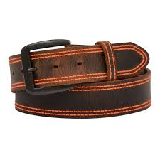 wide leather distressed brown