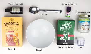 homemade natural deodorant cream