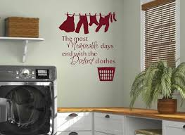 Washroom Laundry Room Wall Decals Home Balcony Wall Vinyl Stickers Dry Cleaners Wall Art Posters Removable Vinyl Murals S 234 Laundry Room Wall Decalsvinyl Stickers Aliexpress