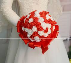 زهور الزفاف باقات زفاف حفلة الزفاف حرير بورون 11 20 Cm 7024917
