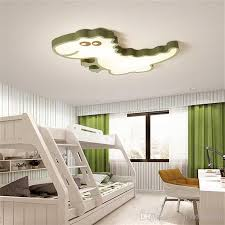 2020 Dinosaur Baby Modern Led Ceiling Chandelier For Bedroom Children Room Kids Rom Home Deco White Pink Green Ceiling Chandelier From Szq15302863010 117 59 Dhgate Com