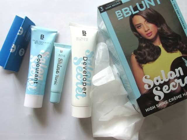 Image result for BBLUNT Salon Secret High Shine Crème Hair Colour""