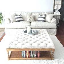 ottomans oversized ottoman coffee table