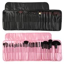 plete makeup kit with brushes