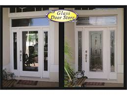 front entry glass doors