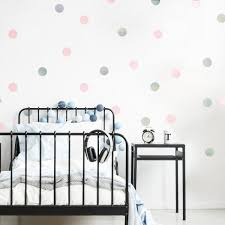 Wall Pops 26 In X 48 In Rose Gold Confetti Dot 128 Piece Wall Decal Twpd2137 The Home Depot