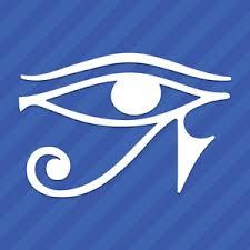 Eye Of Horus Vinyl Decal Sticker Egyptian Pagan Ebay