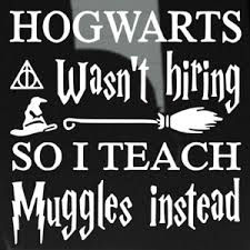 Harry Potter Hogwarts Teacher Decal Sticker Die Cut Vinyl Window Car Yeti Muggle Ebay