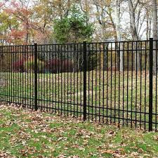 New Haven Aluminum Metal Fence Panels At Lowes Com