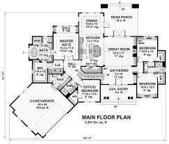 house plan 42679 tudor style with