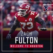 Houston Texans - Welcome to Houston, OL Zach Fulton!