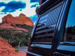 84 01 Jeep Cherokee Xj American Flag Decals Stickers Vinyl Etsy