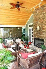 glorious enclosed patio porch rustic