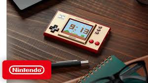 Nintendo Game & Watch, máy chơi game cầm tay ra mắt ngày 13/11