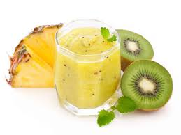 tropical protein shake smoothie all