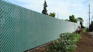 Pre Slatted Chain Link Fitzpatrick Fence And Rail