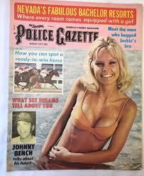 Police Gazette Magazine Aug 1973 Sex Dreams Johnny Bench Ali Boxing Irma  Smith | eBay