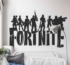 Fortnite With Skins Video Game Sticker Tenstickers