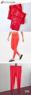 Ivy Parker Shadow Logo Neon Red Orange Leggings XL | Orange leggings,  Leggings are not pants, Leggings xl