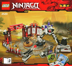 Building Instructions - LEGO 2520: Ninjago Battle Arena - Book 2