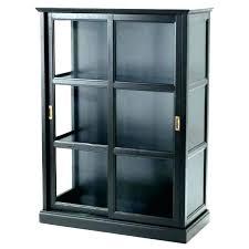 corner curio cabinet alcove 3 sided