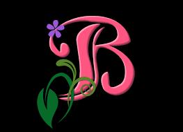 خلفيات حرف a و b